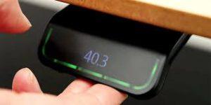 Sähköpöytä 2-jalalla DUO LINAK DL15, kirvesmallin kansi 160x120cm 4-väriä kansi