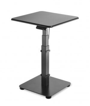 Sähköpöytä 1-jalalla GetUpDesk Single musta [ET1650BL]