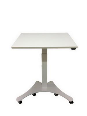 Sähköpöytä 1-jalalla Mono Linak DL12 runko valkoinen, valmis kansi 80x60cm