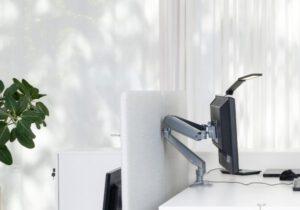 Stoo® Dual näytönvarsi/monitorivarsi 2näytölle