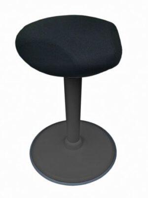 Stoo® Triangle aktiivituoli musta runko 57-86cm