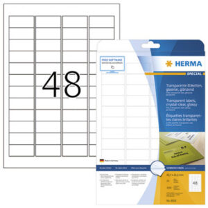 Tarra Herma 8016 läpinäkyvä 115574
