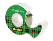 Asiakirjateippi Scotch 8-1210D 12mm x 10m ja katkaisulaite 6kpl/pak
