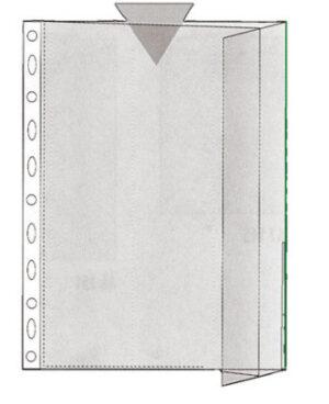 Patenttitasku A4, vihreä reuna 130072