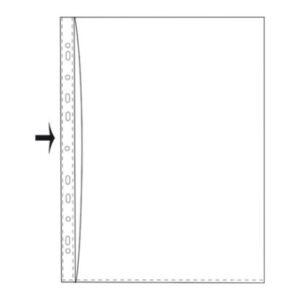 Kansiotasku A3 T108/14 PVC 130271