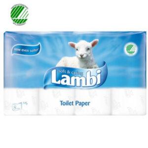 Lambi WC-paperi valkoinen
