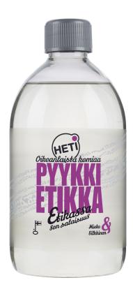 HETI Pyykkietikka 500ml Mieto&Silkkinen