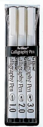 Kalligrafiakynäsarja Artline