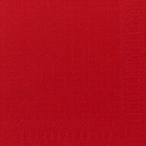 Lautasliina 24×24 punainen 509528