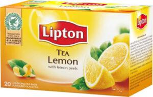 Teepussi Lipton sitruuna 20pss 520208
