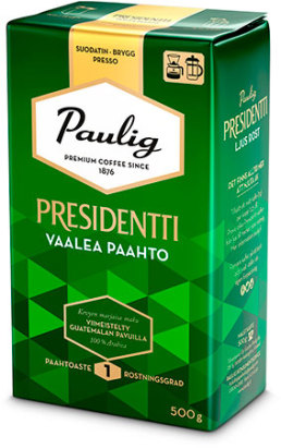 Kahvi Presidentti 500 g 520250