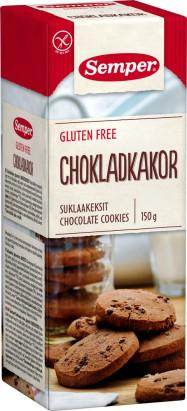 Semper Suklaakeksi gluteeniton 150g 520393