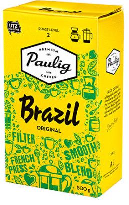 Kahvi Brazil 500g UTZ 520105