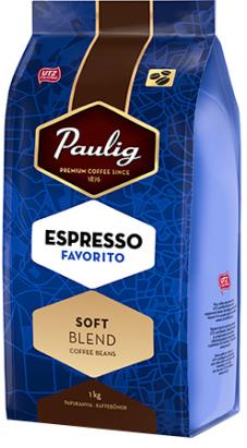 Espresso Favorito -pavut 1kg 520390