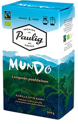Kahvi Paulig Mundo 500g sj 520397