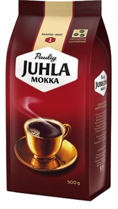 Juhla Mokka pavut 500g 520388