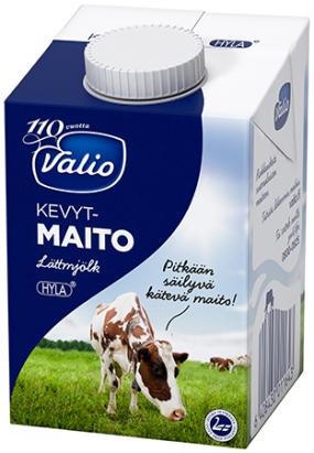 Maito, kevyt 0.5 l x 10 520107