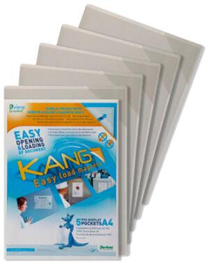 Magneettitasku Kang A4 valkea 144059