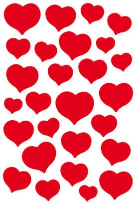 Magic tarra Punaiset sydämet 115607