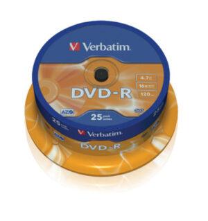 Tietolevy Verbatim DVD-R 4,7GB 146348