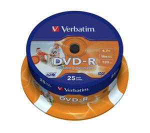 Tietolevy Verbatim DVD-R 4,7GB 146350
