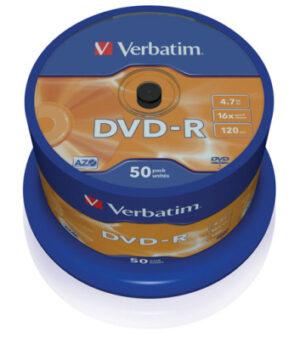 Tietolevy Verbatim DVD-R 4,7GB 146349