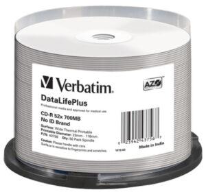 Tietolevy Verbatim CD-R 700MB 146346