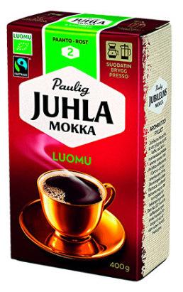 Kahvi Juhla Mokka Luomu 400g 520028