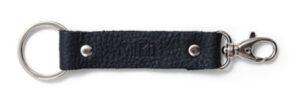 Avaimenperä nahkainen, musta 550568