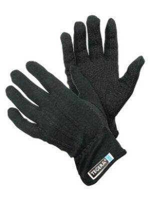 Mikronäppylä hanska 9 L musta