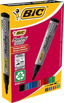 BIC 2000 huopakynä 4-väri