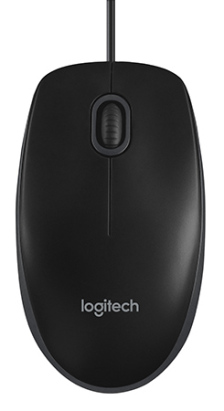 Logitech B100 hiiri langallinen musta 150106