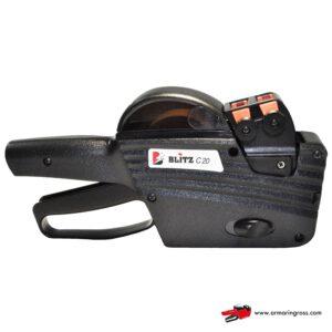 Hinnoittelulaite-hinnoittelukone Blitz C17 etikettikoko 26 x 16 mm 2-rivinen