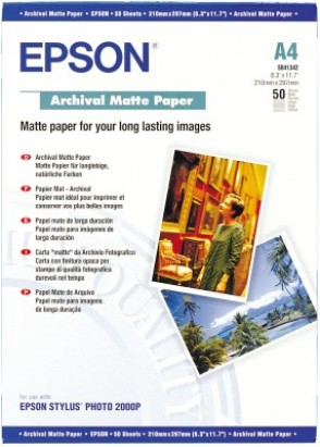 Epson A4 archival matta paperi 1005862