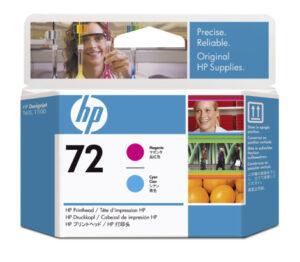 HP No 72 magenta+ cyan 253109