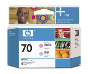 HP No 70 vaal.mag + vaal. cyan 1004843