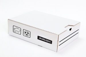 Arkistokotelo Haseka-Boxi A4 6cm+arkistolevy, 50kpl/pak