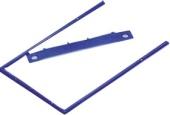 Arkistohaarukka 8 cm D-clip sininen, 100kpl