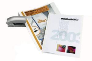 Sidontakansio Durabind A4 valkoinen 100KPL