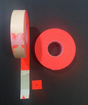 Sato Hintatarra 16x18mm punainen pitoliima (50rll/ltk)