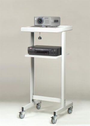 Projektoripöytä kallistuksella SENACO EP 302 valkoinen