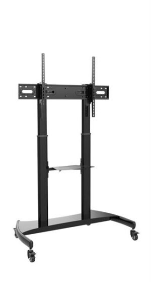 Korkeussäädettävä TV:n/näytön lattiajalusta Senaco SN3000 musta