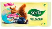 Tämä hinta tarviketilaajille! WC-paperi Serla Toilet Yellow 5SÄK