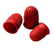 Sormikumi 00 punainen halkaisija 15 mm  10/pss
