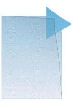 Muovitasku A4 PP 145mic (jämäkkä) 2-sivua auki