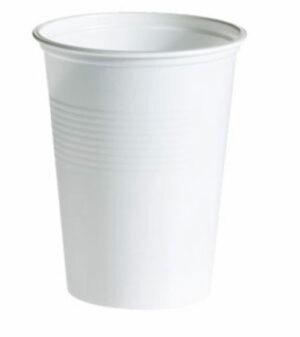 Muovipikari 200 ml valkoinen 512099