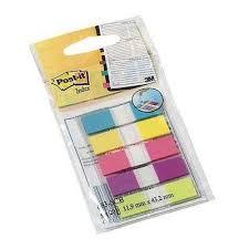 Teippimerkki Post-it 683-5CB 5 väriä (5×20 teippimerkkiä)