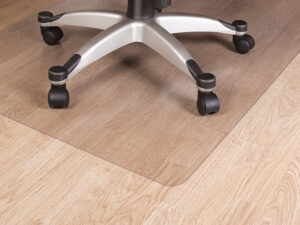 Tuolinalusmatto/lattiansuojamatto 120x100cm kirkas