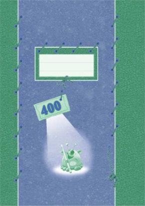 Kouluvihko 400 A4/20 blanco 103009
