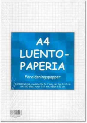 Luentopaperi A4/100 SK 101026